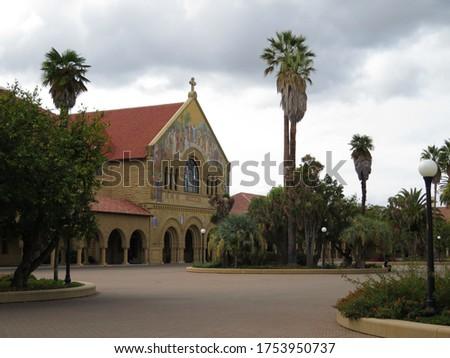 Noorden kerk rechter hoofd- universiteit Stockfoto © yhelfman