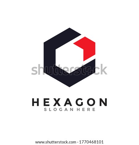 abstract infinite geometric cube box arrow logo icon for corpora Stock photo © taufik_al_amin