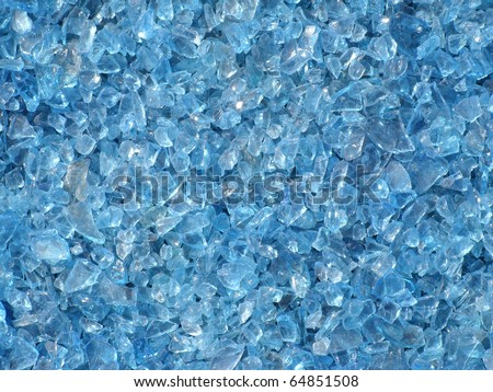 artificial transparent pieces of ice on a blue background with deep shadows Stock photo © artjazz