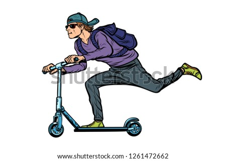 uomo · alla · moda · bike · giovane · sport · fitness - foto d'archivio © studiostoks