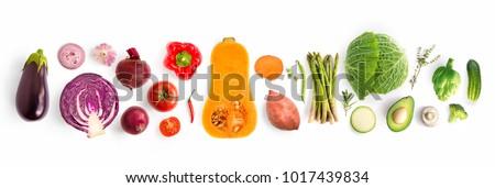 創造 甘い食べ物 自然 材料 夏 パターン ストックフォト © artjazz