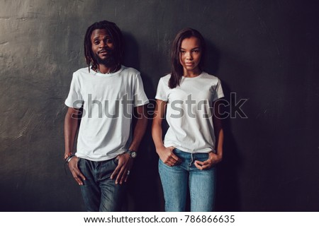 Black&white fashionable shot of an attractive couple in the bedr Stock photo © majdansky