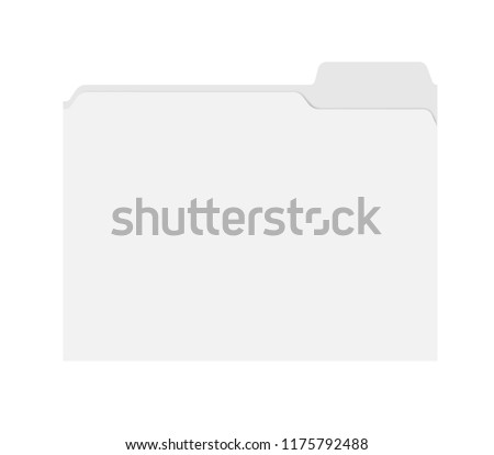 File folders with an empty tab  Stock photo © Zerbor