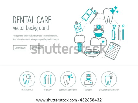 Dental care, dentistry equipment icons set for website and mobile site and apps. Contains such Icons Stock photo © makyzz