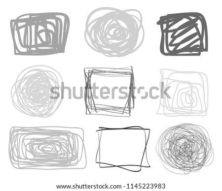 Cameras with different season photos. Black and white icon group Stock photo © Imaagio