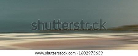 Abstract vintage coastal nature background, long exposure view o Stock photo © Anneleven