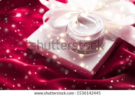 Magic face cream as beauty skin moisturizer, luxury spa cosmetic Stock photo © Anneleven