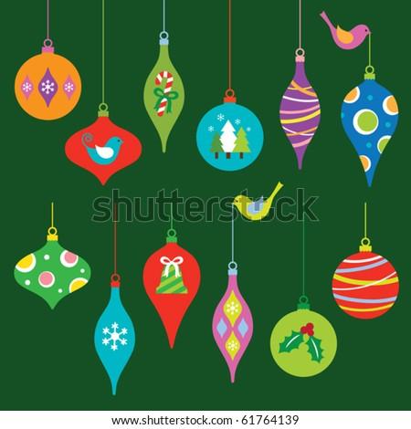 Karácsony ikon gyűjtemény cukorka sétapálca lila zöld Stock fotó © nazlisart