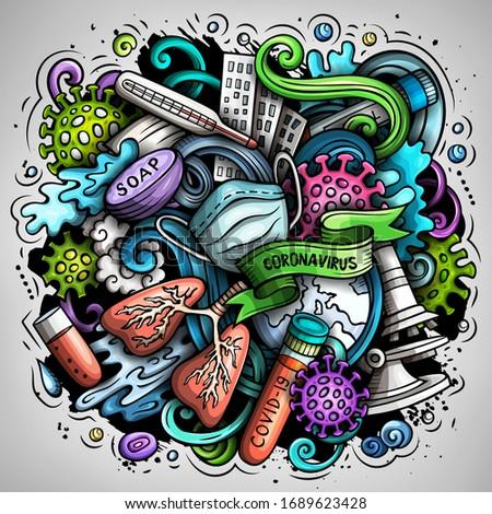 Desenho animado vetor ilustração brilhante cores Foto stock © balabolka