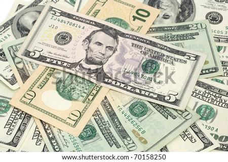 Grande uno cien dólares billetes Foto stock © evgeny89