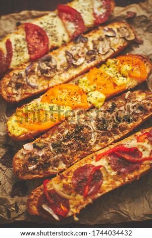 горячей вкусный Бутерброды различный сыра Сток-фото © dash