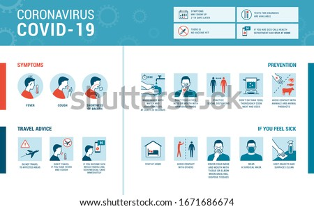 COVID-19 spreading prevention coughing sneezing in tissue sick woman at home Stock photo © Maridav