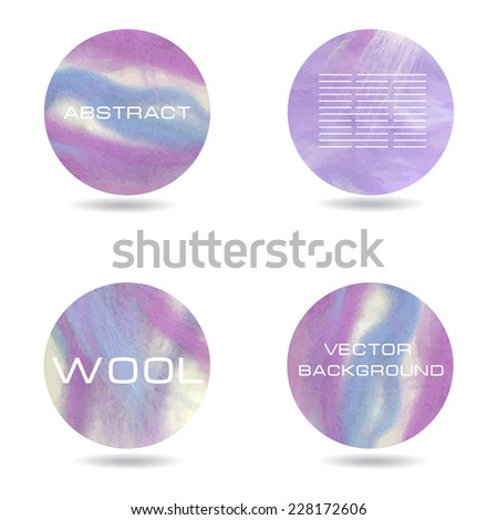 Abstract Purple Colorful Background Sheep Wool Vector Backdrop Stock fotó © mcherevan
