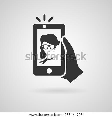comunicação · vara · pessoas · conjunto · três · desenho · animado - foto stock © chatchai5172