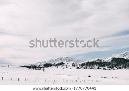 пейзаж · мнение · гор · Черногория · облака · природы - Сток-фото © victoria_andreas