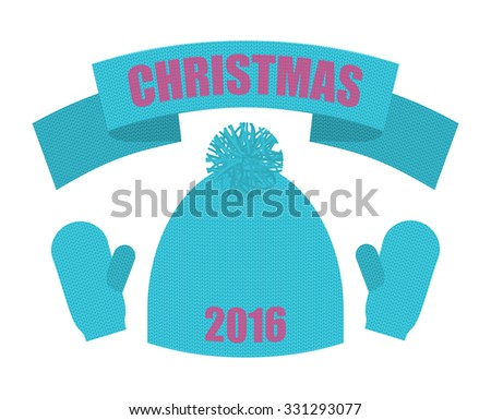 grillig · cartoon · meisje · winter · kleding - stockfoto © popaukropa