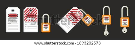 Open lucchetto icona lock accesso allarme Foto d'archivio © taufik_al_amin