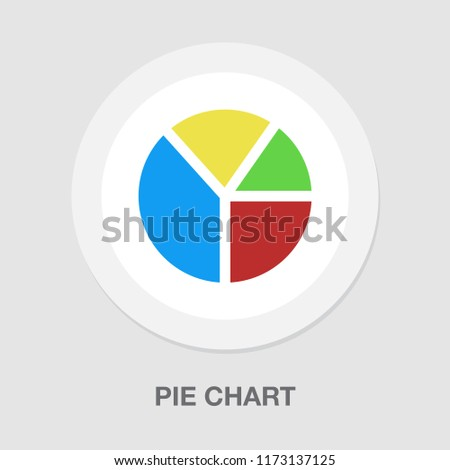 Colorful Business Pie Chart For Your Documents Reports Web Or