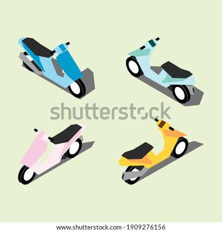 エンジン レース アイソメトリック パターン シームレス モータ ストックフォト © popaukropa
