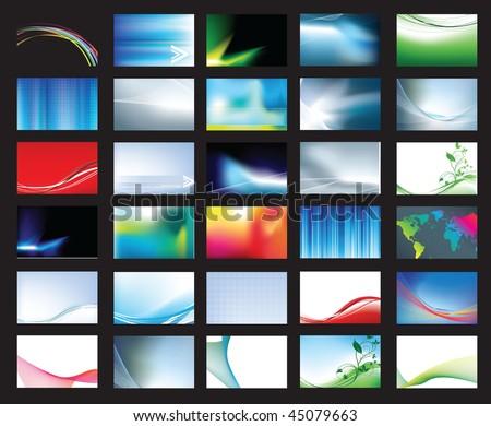 корпоративного бизнеса канцтовары большой набор синий Сток-фото © SArts