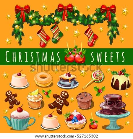bonbons · canne · isométrique · objet · Noël · signe - photo stock © lady-luck