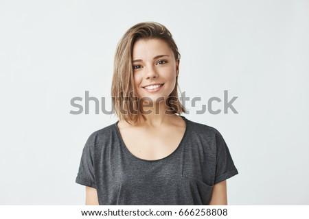 Stüdyo portre şık çekici kız poz Stok fotoğraf © studiolucky
