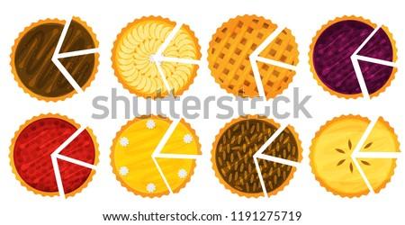 Stockfoto: Pompoen · gesneden · stukken · plaat · voedsel · vakantie