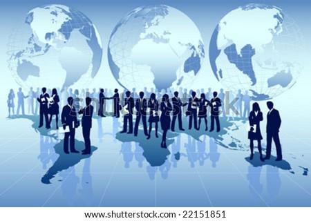 Riqueza gestão homem de negócios equipe financeiro planejamento Foto stock © snowing