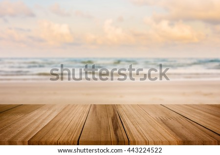 Kiválasztott fókusz üres barna fa asztal kint Stock fotó © Freedomz