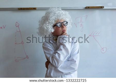 Vue écolier blanche Photo stock © wavebreak_media
