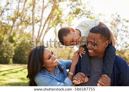 Side view of African-American male and mixed-race female executives using electronic devices in cant Stock photo © wavebreak_media