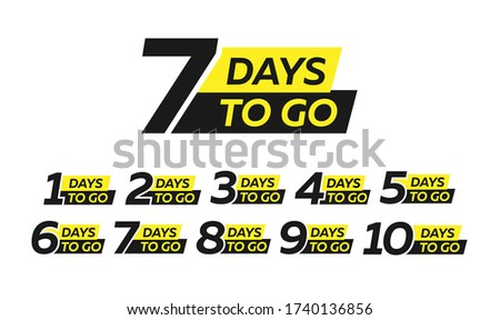 Egy hét matrica vásár címke ébresztőóra Stock fotó © gomixer