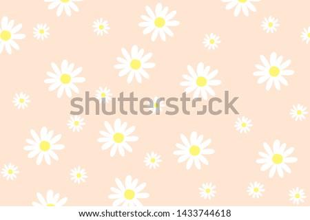 ピンク デイジーチェーン 花 花弁 咲く 抽象的な ストックフォト © Anneleven