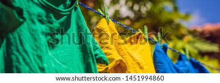 Banner largo formato Foto stock © galitskaya