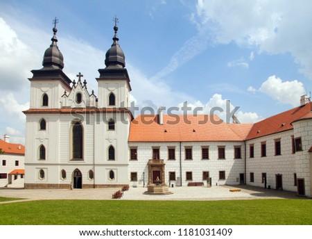Gothic bazylika święty klasztor Czechy unesco Zdjęcia stock © Zhukow