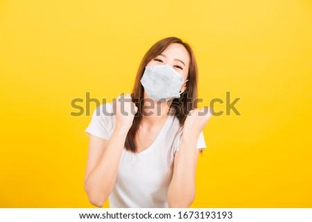 Tıbbi insanlar maske önleme Stok fotoğraf © vectomart