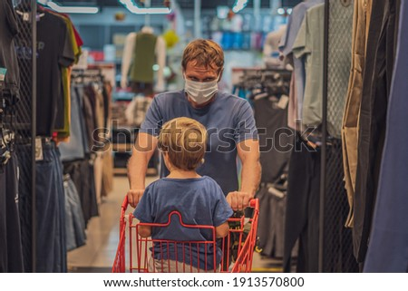 Coronavirus pandemic, Covid-19, quarantine measure. Serious adult man in white shirt, holds black ja Stock photo © vkstudio