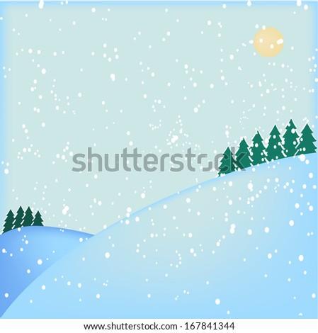 Orizzontale congelato frame blu fiocchi di neve trasparente Foto d'archivio © evgeny89