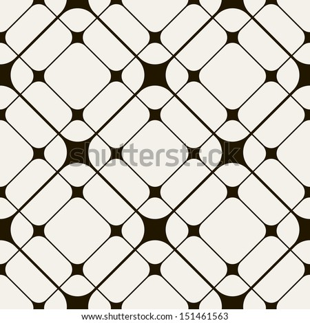 Vector seamless pattern. Mesh repeating texture. Linear grid with chaotic shapes. Stylish geometric  Stock photo © samolevsky
