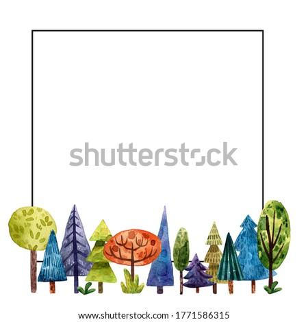 Fadas jardim bandeira desenho animado estilo branco Foto stock © bluering