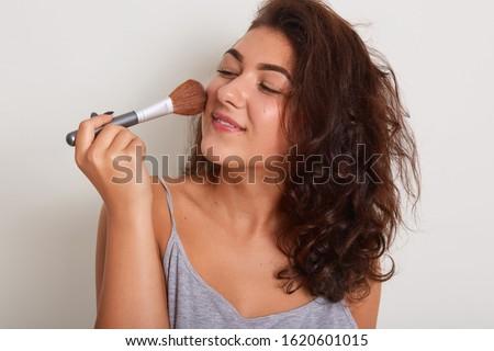 Naturales magnético frescos limpio piel Foto stock © vkstudio