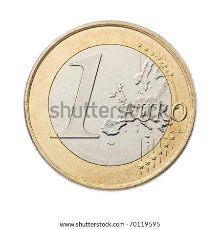 Egy Euro érme európai szövetség pénz Stock fotó © LoopAll