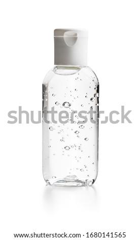 Hand sanitizer background for hands hygiene corona virus prevention - proper measures to keep clean  Stock photo © Maridav