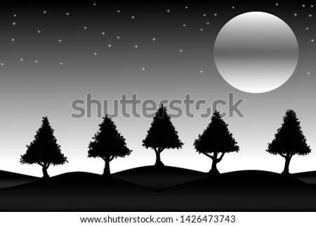 digitaal · gemanipuleerd · afbeelding · sneeuw · gedekt · pijnboom - stockfoto © DonLand