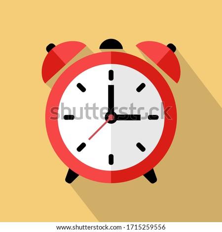 Sveglia tempo retro allarme mattina Foto d'archivio © Stocksnapper