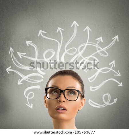 деловая · женщина · лабиринт · Постоянный · белый · бизнеса · дизайна - Сток-фото © hasloo