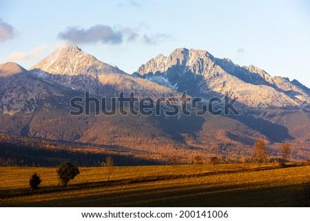 Montana alto Eslovaquia paisaje montanas Europa Foto stock © phbcz