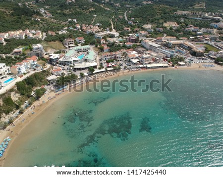Greek summer holidays - beautiful Almyrida bay in Crete island. Stock photo © Freesurf