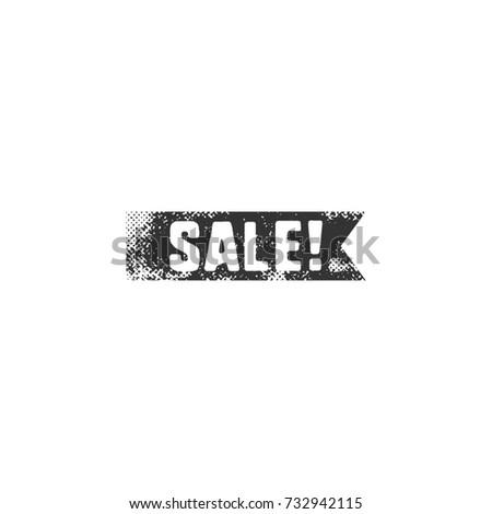 Stockfoto: Vintage · zwarte · verkoop · lint · retro
