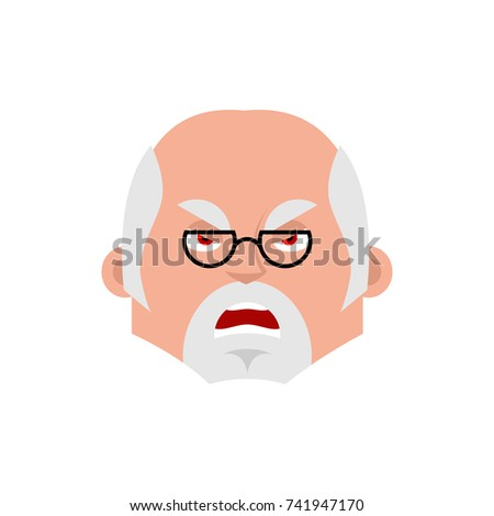 Lekarza zły emocji avatar lekarz zło Zdjęcia stock © popaukropa
